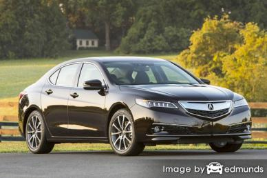 Insurance quote for Acura TLX in Riverside