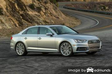 Insurance quote for Audi A4 in Riverside