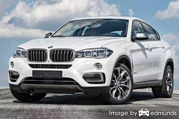Insurance quote for BMW X6 in Riverside