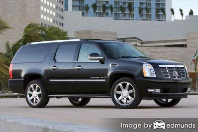 Discount Cadillac Escalade ESV insurance