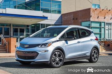 Insurance rates Chevy Bolt EV in Riverside