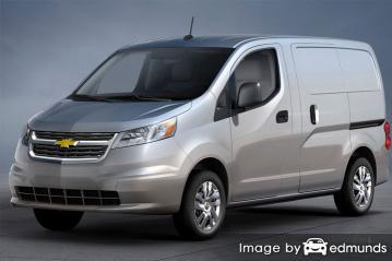 Insurance rates Chevy City Express in Riverside