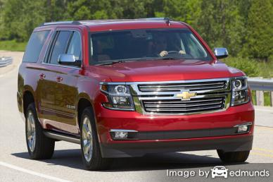 Insurance quote for Chevy Suburban in Riverside
