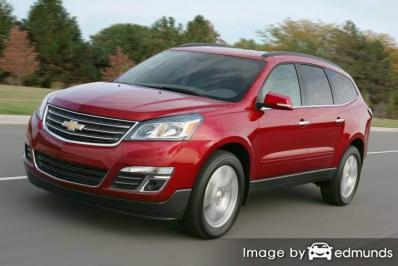 Insurance quote for Chevy Traverse in Riverside