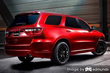 Insurance quote for Dodge Durango in Riverside