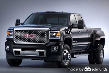 Insurance rates GMC Sierra 3500HD in Riverside