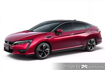 Insurance quote for Honda Clarity in Riverside