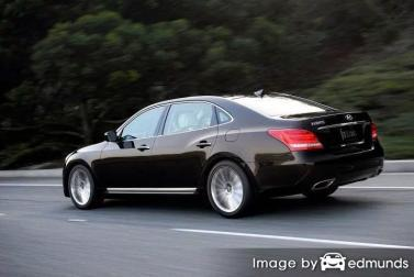 Discount Hyundai Equus insurance