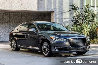 Insurance quote for Hyundai G90 in Riverside