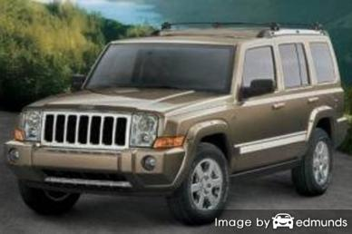 Insurance rates Jeep Commander in Riverside