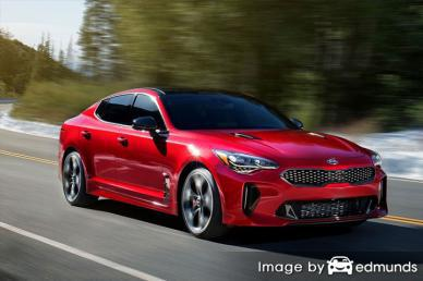 Insurance rates Kia Stinger in Riverside