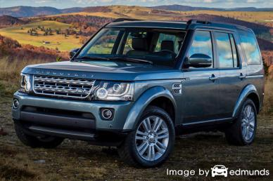 Insurance quote for Land Rover LR4 in Riverside