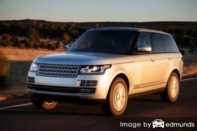 Insurance quote for Land Rover Range Rover in Riverside