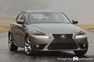 Insurance quote for Lexus IS 350 in Riverside