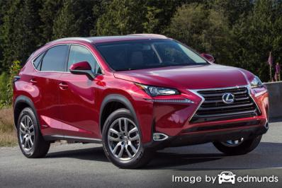 Insurance quote for Lexus NX 300h in Riverside