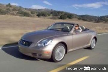 Insurance quote for Lexus SC 430 in Riverside