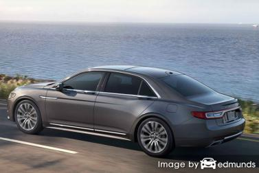 Insurance quote for Lincoln Continental in Riverside