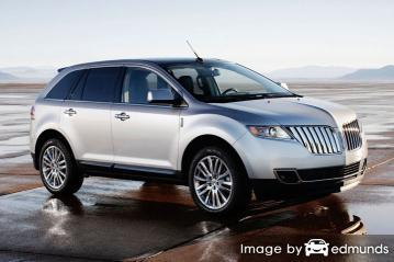Insurance quote for Lincoln MKT in Riverside