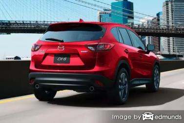 Insurance rates Mazda CX-5 in Riverside