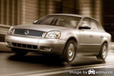 Insurance quote for Mercury Montego in Riverside