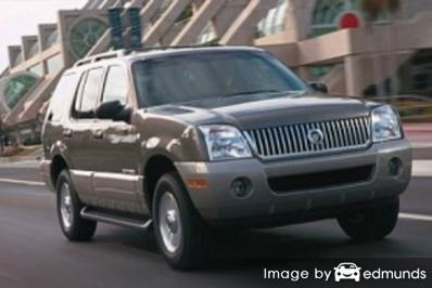 Insurance quote for Mercury Mountaineer in Riverside
