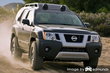 Insurance quote for Nissan Xterra in Riverside