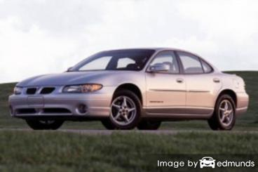 Insurance rates Pontiac Grand Prix in Riverside