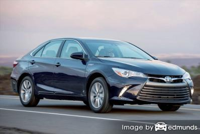 Insurance rates Toyota Camry Hybrid in Riverside