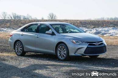 Insurance quote for Toyota Camry in Riverside
