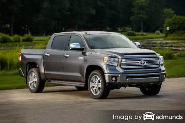 Insurance quote for Toyota Tundra in Riverside